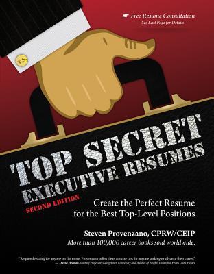 Top Secret Executive Resumes By Provenzano, Steve